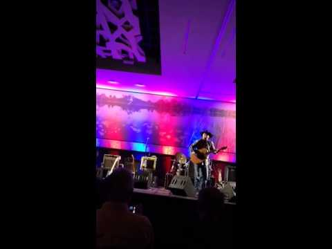 Tony Justice and legend John Anderson entertain at GATS 2015