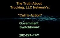 Anti Trucker bill provision requires truckers to work without pay