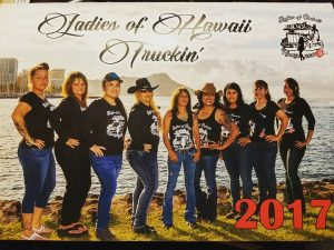 """Ladies of Hawaii Truckin"""