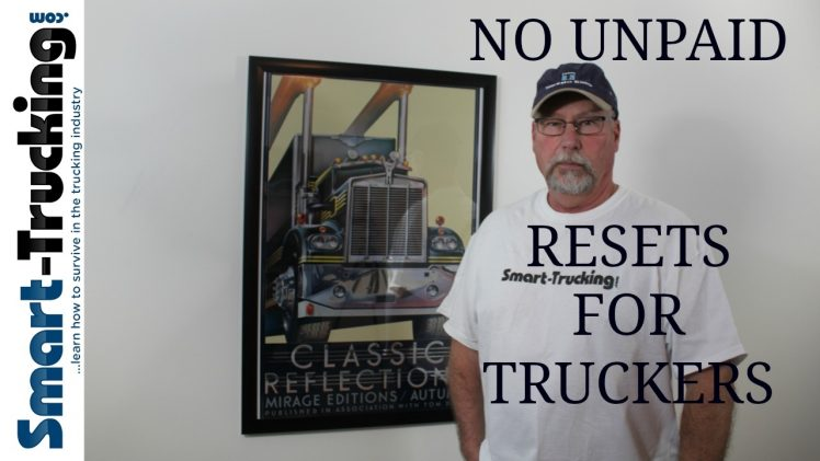 Allowing Federal Authority language in government bills is TRUCKER wage theft