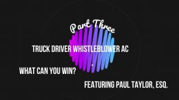 What you receive if a Whistleblower case is won