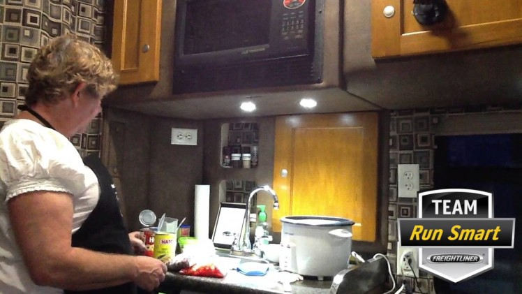 Cooking in the Truck – Enchilada Soup