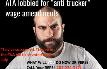 No Anti trucker amendments